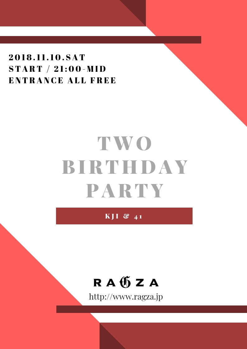 11.10 SAT TWO BIRTHDAY PARTY